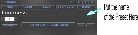 rakarrack Preset Box